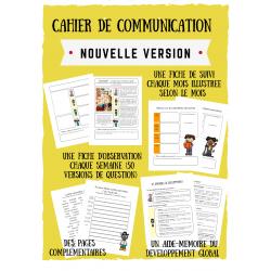 Cahier de communication (nouvelle version)