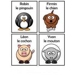 LES ANIMAUX DÉMÉNAGENT/RIMES
