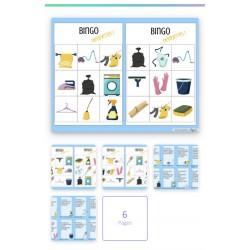 Bingo Devinettes - Les objets de la maison