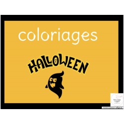 Coloriages - L'halloween
