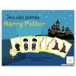 Jeu des paires - Harry Potter