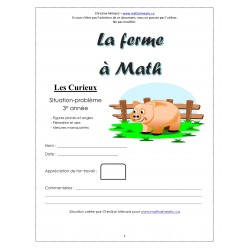 CD1 Maths 3e - (3) La ferme à Math