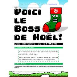 C1 4e - Boss de Noël - Les enfants de St-Math