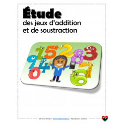 Étude des tables d'addition et de soustraction