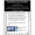 Éducation à la sexualité - 6e année