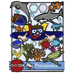 Cliparts - Poissons