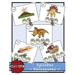 Dinosaures - Localisation de syllabes