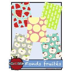 Fond (arrière-plan) - Les fruits