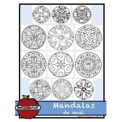 Mandalas de Noël