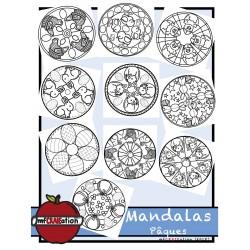 Mandalas - Pâques