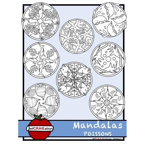 Mandalas - POISSONS