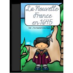 La Nouvelle-France vers 1645