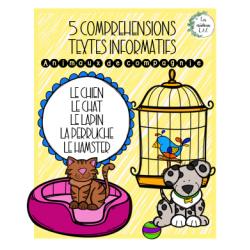 5 textes informatifs sur les animaux de compagnie