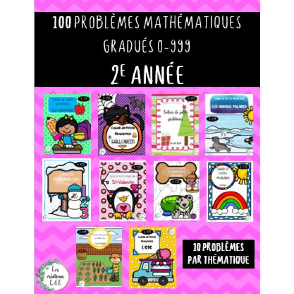 100 petits problèmes-2e année