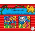 Coloriages codés -Dinosaures
