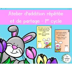 Addition répétée-Partage-Pâques