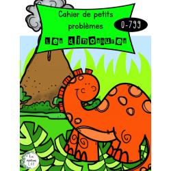 Cahier de petits problèmes-Dinosaures