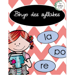 Bingo des syllabes