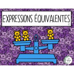 Expressions équivalentes