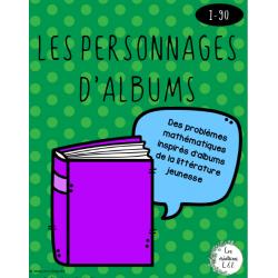 Cahier de petits problèmes-Albums-1re année