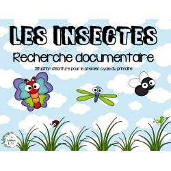 Recherche documentaire-les insectes