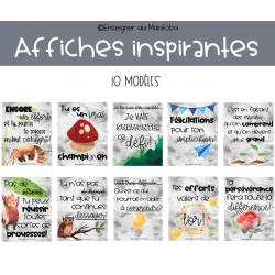 Affiches inspirantes