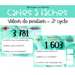 CAT - Valeur de position