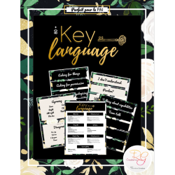 [ESL] Key language