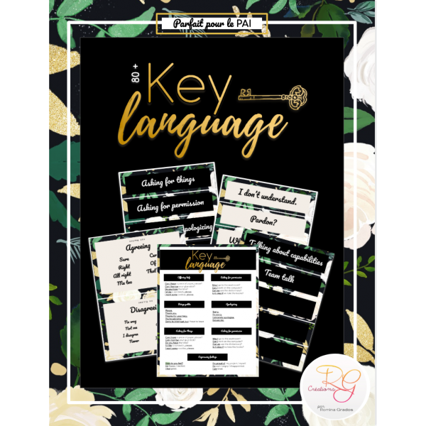 [ESL] Key language