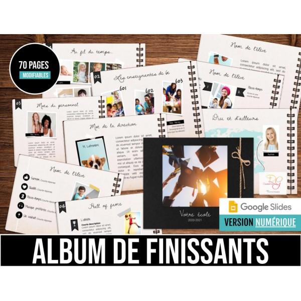 Album de finissants NUMÉRIQUE 2021