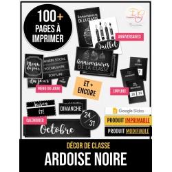 [AFFICHAGE] ARDOISE NOIRE