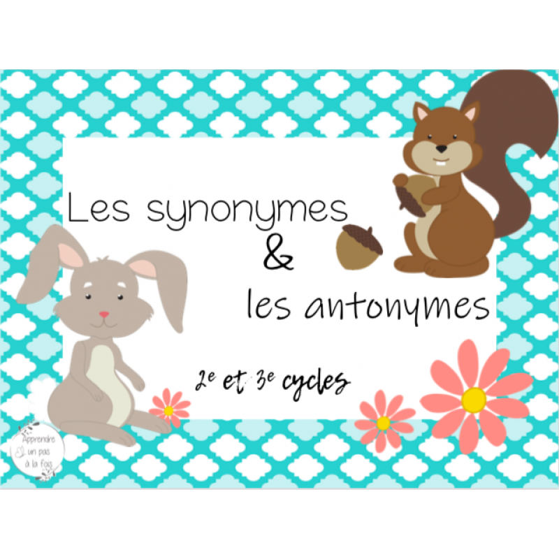 Cat Synonymes Et Antonymes
