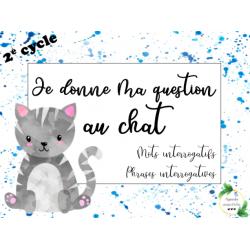 CAT - Je donne ma question au chat