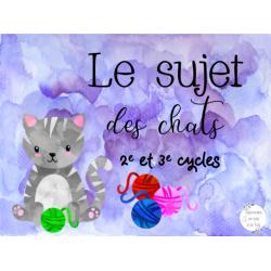 CAT- Le sujet des chats
