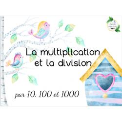CAT - Multiplier et diviser par 10, 100, 1000