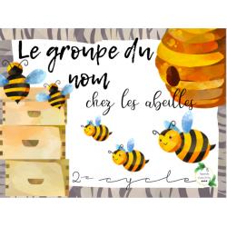 CAT - Le groupe du nom chez les abeilles