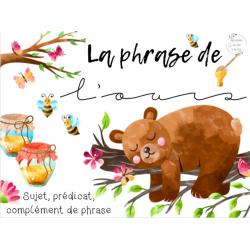 CAT - La phrase de l'ours