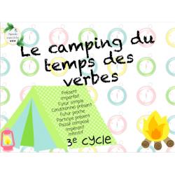 CAT - Le camping du temps des verbes
