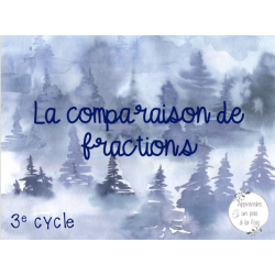 CAT - La comparaison de fractions