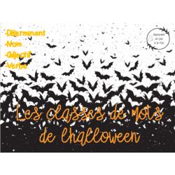 CAT - Les classes de mots de l'halloween