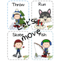 Winter Movement Cards