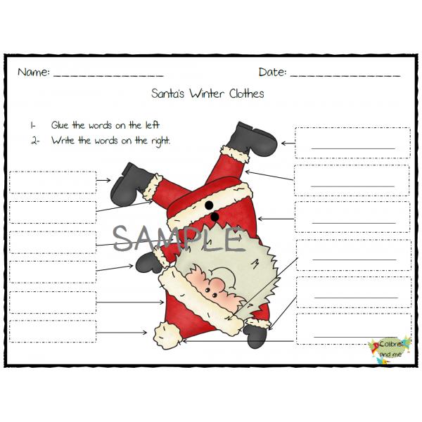 Santa's Winter Clothes