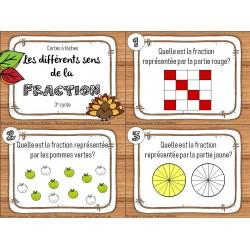 CAT - Les différents sens de la fraction