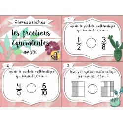 CAT - Les fractions équivalentes