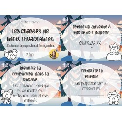 CAT - Les classes de mots invariables
