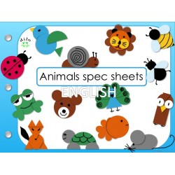 dito animals spec sheets