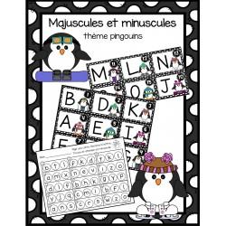 Majuscules et minuscules - pingouins