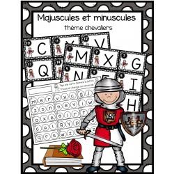 Majuscules et minuscules - chevaliers