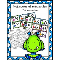 Majuscules et minuscules - monstres