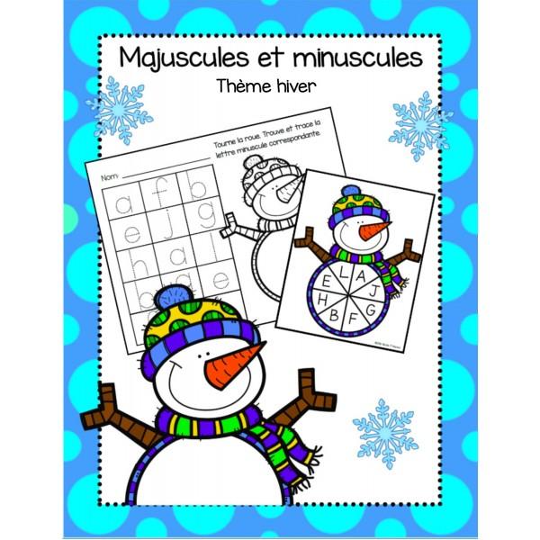 Majuscules et minuscules - hiver